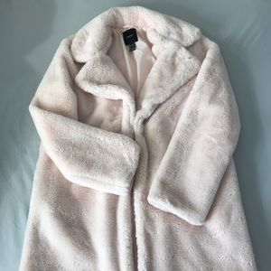Light Pink Forever 21 Coat